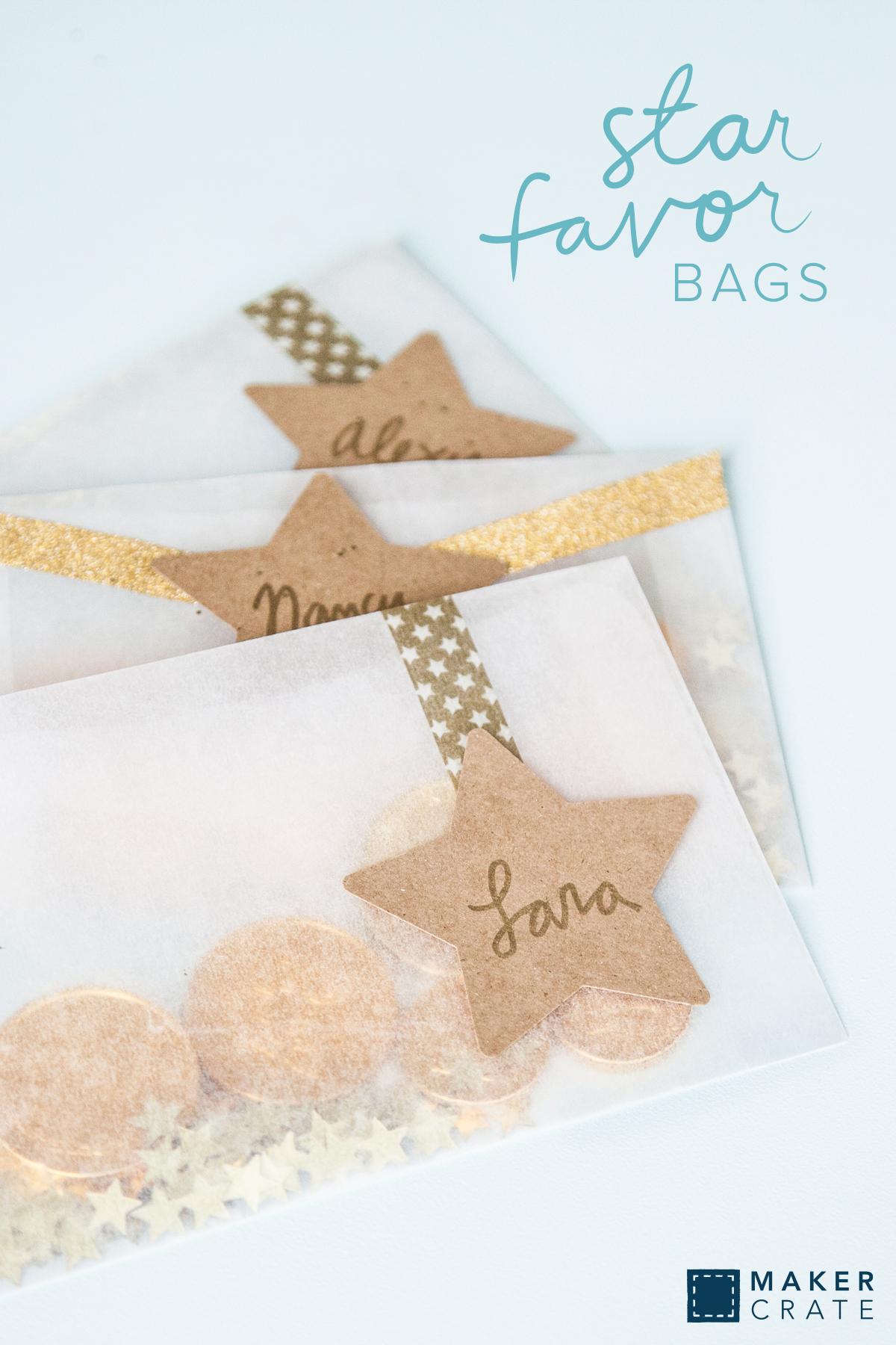 Star Favor Bags   Maker Crate