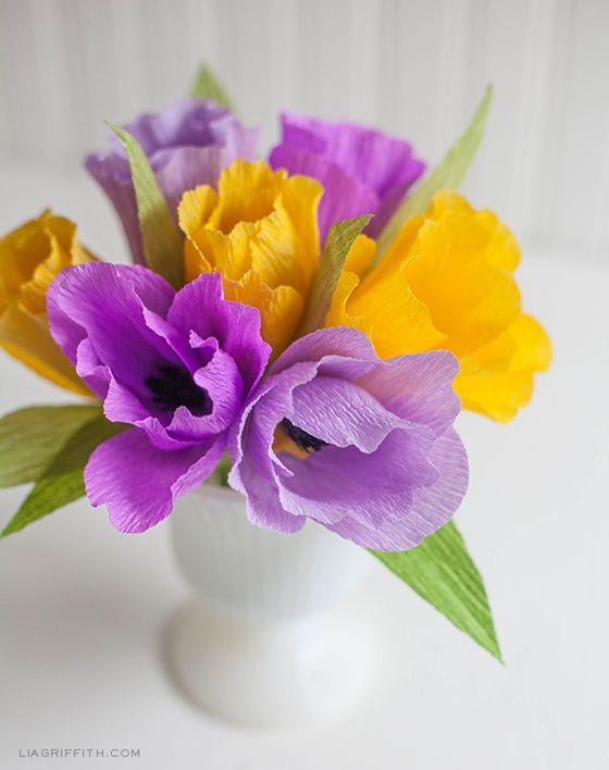 Crepe paper tulips maker crate crepe paper tulips mightylinksfo