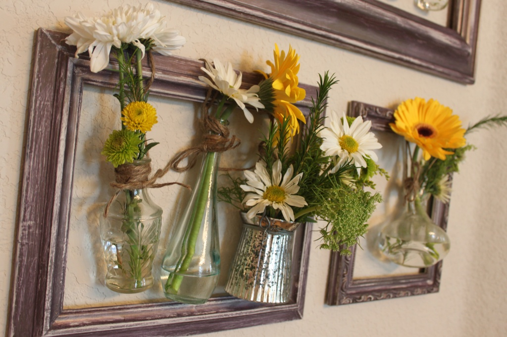 Framed Hanging Vases Maker Crate