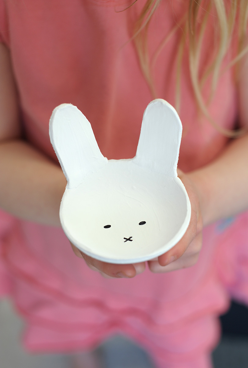 Clay Bunny Bowls All Of Those Easter Projects