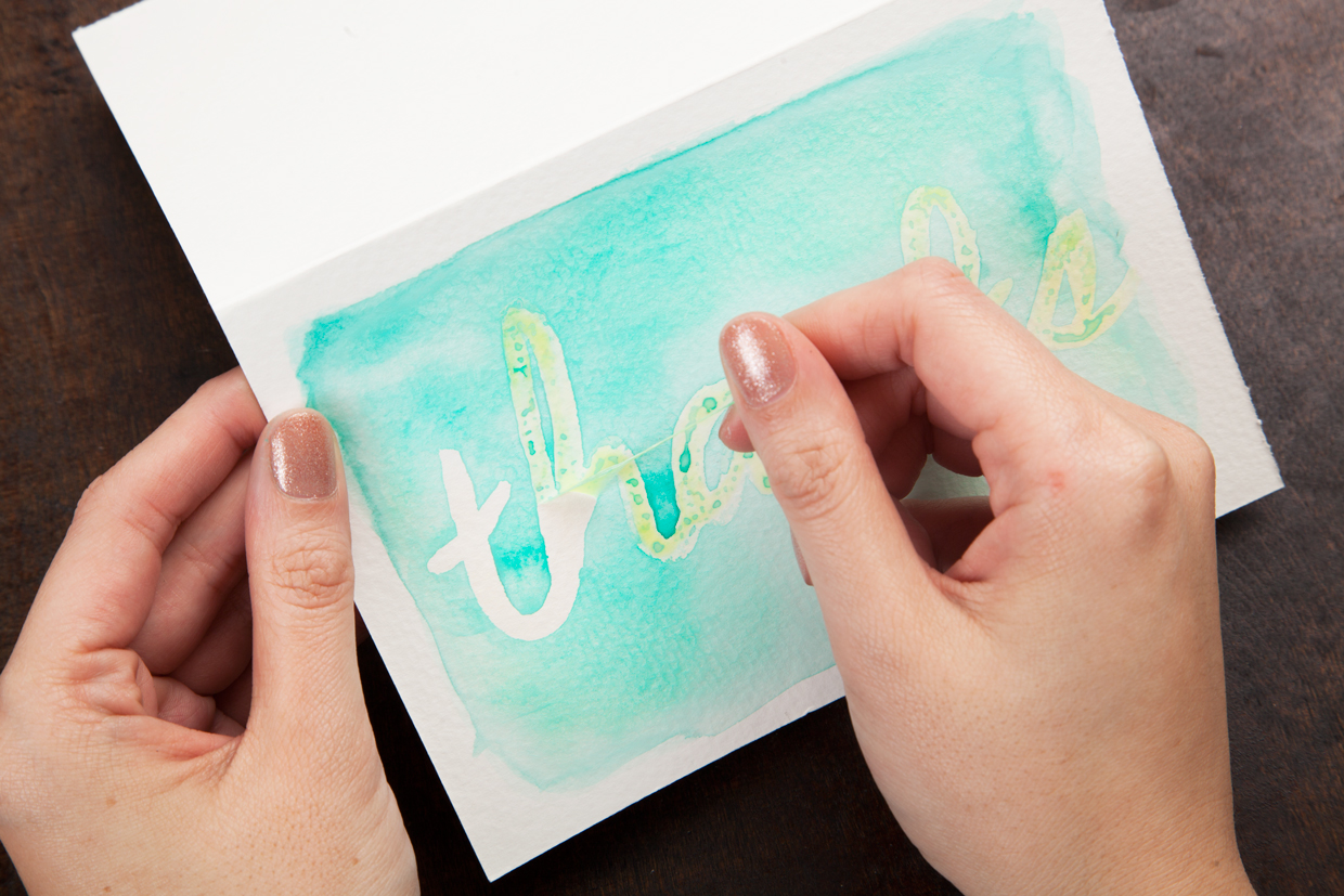 Watercolor greeting cards maker crate image or video kristyandbryce Images
