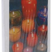Ombre Dip-Dyed Candles Maker Crate