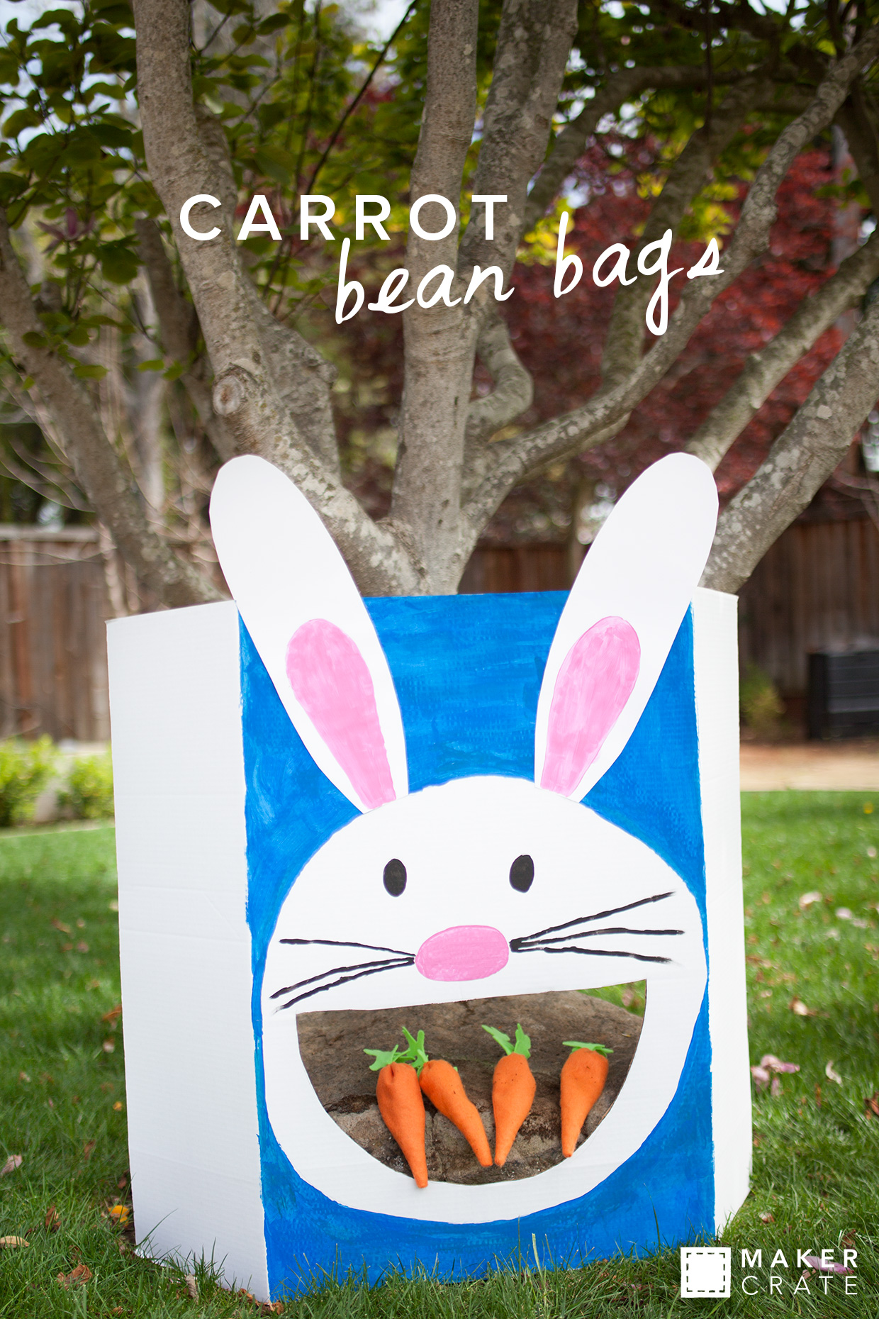 Carrot Bean Bag Maker Crate